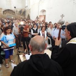 Συγκίνηση και θρησκευτική κατάνυξη στην  Εκκλησία της Αγίας Άννας στην εντός των τειχών πόλη της Αμμοχώστου