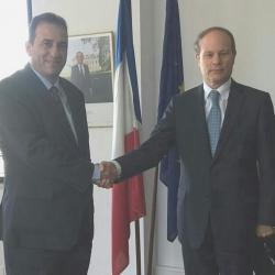 Συνάντηση Εκπροσώπου με Γάλλο Πρέσβη