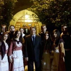 Εκδήλωση Ηχοχρώματα παράδοσης Μαρωνιτών - Προεδρικό Μέγαρο